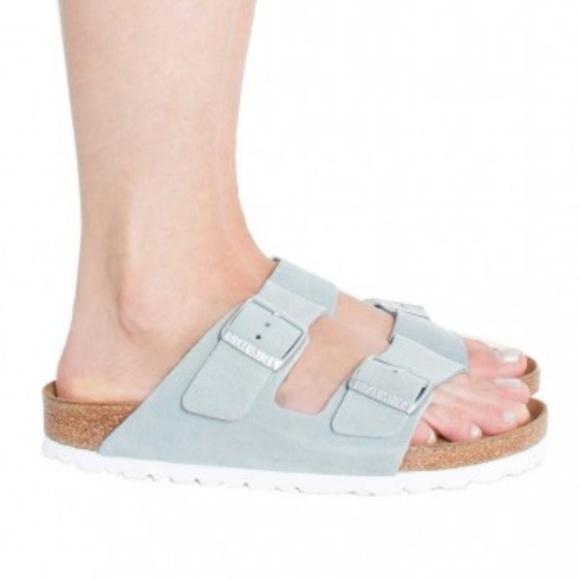 Birkenstock Baby Blue Arizona Sandals